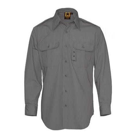 Men's Propper Tactical Dress Shirt Long Sleeve 65P/35C Dark Grey