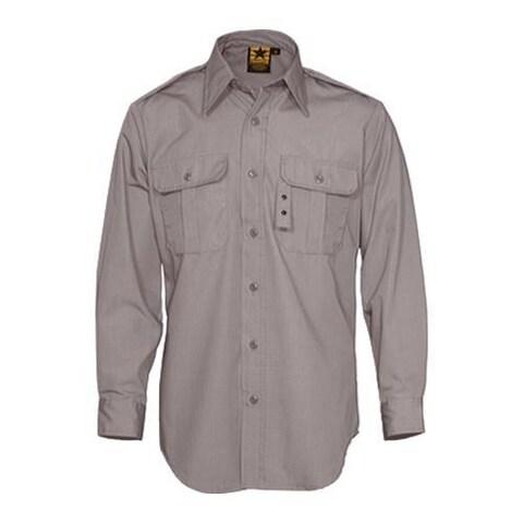 Men's Propper Tactical Dress Shirt Long Sleeve 65P/35C Grey