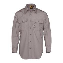 Men's Propper Tactical Dress Shirt Long Sleeve 65P/35C Grey