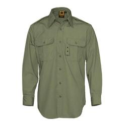 Men's Propper Tactical Dress Shirt Long Sleeve 65P/35C Olive