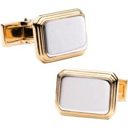 Men's Ravi Ratan Two Tone Rectangular Cufflinks Two Tone