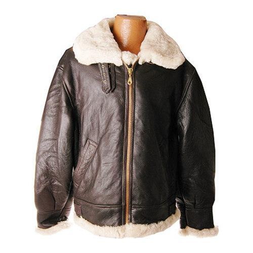 d8f83b2d8 Men's Ricardo B.H. Bomber Jacket Brown/Natural Leather