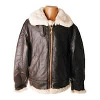 Men's Ricardo B.H. Bomber Jacket Brown/Natural Leather