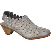 Women's Rieker-Antistress Sina 78 White Grey/Rauch
