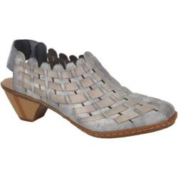 Women's Rieker-Antistress Sina 78 White Grey/Rauch (More options available)