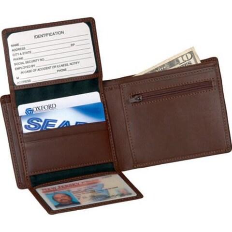Men's Royce Leather Bi-Fold Wallet 109-5 Coco Nappa Leather