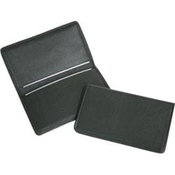 Royce Leather Business Card Case 401-5 Green Leather
