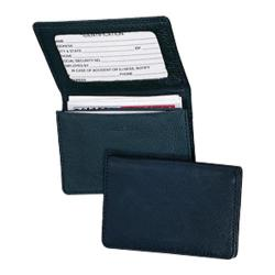 Royce Leather Business Card Holder 409-5 Blue Leather