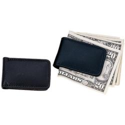 Royce Leather Magnetic Money Clip 810-5 Black Leather