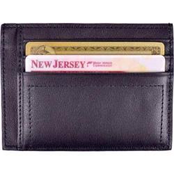 Men's Royce Leather Nappa Prima Card Case Black
