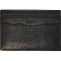 Royce Leather Nappa Prima Slim Card Case 420-5 Black Leather