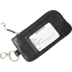 Women's Royce Leather Phone ID Credit Card Wallet 147-6 Black