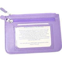 Royce Leather RFID Blocking Neat Pockets 118-6 Purple