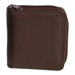 Royce Leather Zip Around Wallet 120-6 Coco Leather