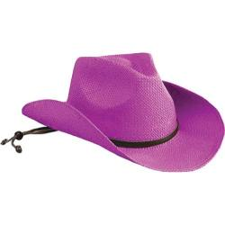 Girls' San Diego Hat Company Cowboy Hat STCLKID Bright Pink