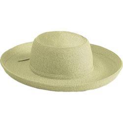 Women's San Diego Hat Company Paperbraid Large Brim Hat PBL1 Khaki