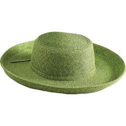 Women's San Diego Hat Company Paperbraid Large Brim Hat PBL1 Moss