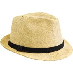San Diego Hat Company Raffia Fedora Natural