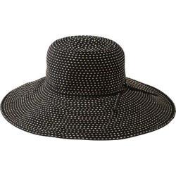 Women's San Diego Hat Company Ribbon Braid Hat w/ Ticking RBL205 Black