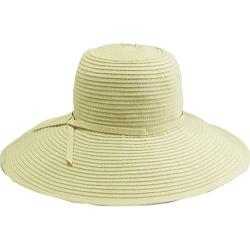 Women's San Diego Hat Company Ribbon Braid Large Brim Hat RBL202 Cream