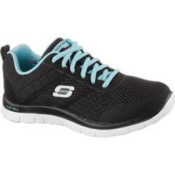 Women's Skechers Flex Appeal Obvious Choice Black/Blue
