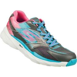 Women's Skechers GOrun Ride 4 Charcoal/Blue