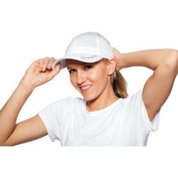SportHill Reflective Running Cap White