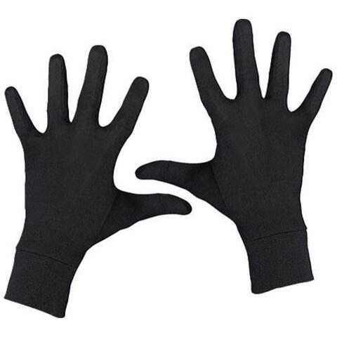 Terramar Interlock Silk Glove Liner Black