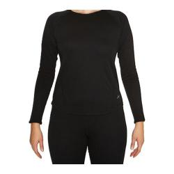 Women's Terramar Two Layer Authentic Thermal Crew 2.0 Black