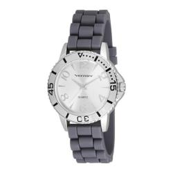 Women's Vernier V11094 Interchangeable Strap Quartz Watch White Silicone/White