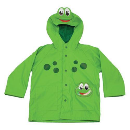 Children's Western Chief Frog Rain Coat Green