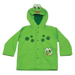Children's Western Chief Frog Rain Coat Green