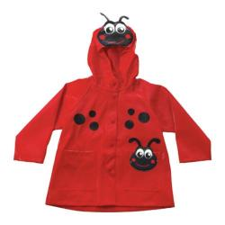 Girl's Western Chief Red Ladybug Rain Coat