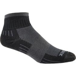 Wrightsock DL Escape Quarter (2 Pairs) Black