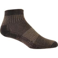 Wrightsock DL Merino Stride Quarter (2 Pairs) Timber
