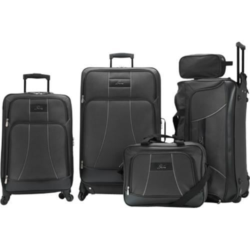 Skyway Luggage Seville 5 Piece Travel Set Black