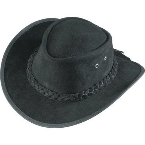 Men's Henschel Outback 62918 Black (US Men's M (Hat 7-7 1...