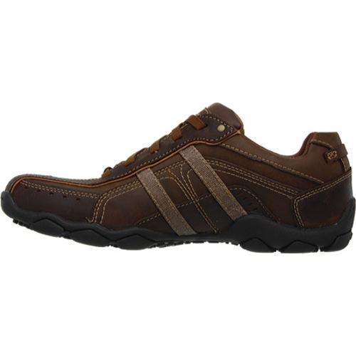 Men's Skechers Diameter Murilo Dark Brown - Thumbnail 2