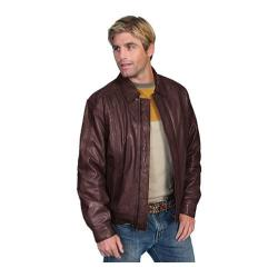 Men's Scully Leather Premium Lambskin Jacket 978 Chocolate
