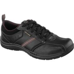 Men's Skechers Relaxed Fit Expected Devention Black/Natural