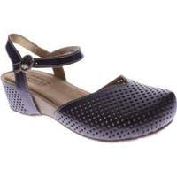 Women's Spring Step Lizzie Purple Leather