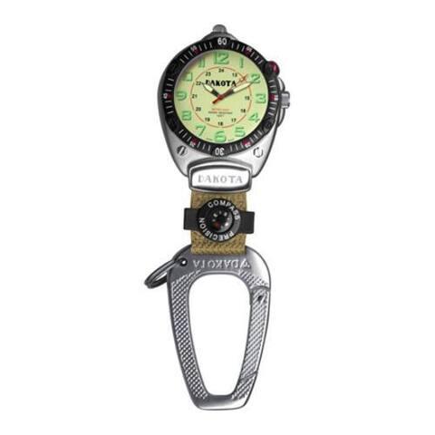 Dakota Watches Backpacker Big Face Watch Clip Cream