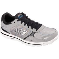 Shop Men S Skechers Gowalk 2 Flash Dna Gray Black Free