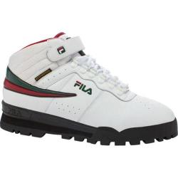 Men's Fila F-13 Weather Tech White/Sycamore/Biking Red