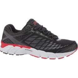 Men's Fila Optima Energized Black/Dark Shadow/Fila Red