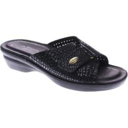 Women's Flexus by Spring Step Carrie Black Python Leather