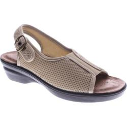 Women's Flexus by Spring Step Fabrizia Beige Mesh Textile (More options available)