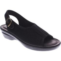 Women's Flexus by Spring Step Fabrizia Black Mesh Textile (More options available)