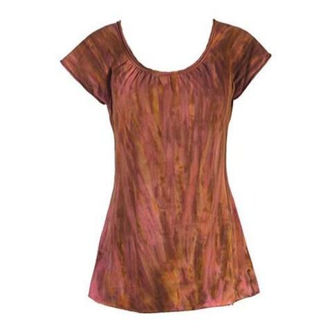 Women's Ojai Clothing Yoga Top Fuschia