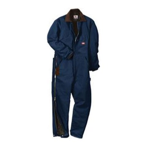 Men's Dickies Premium Insulated Coverall Tall Dark Navy